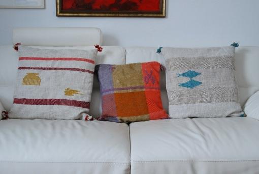 PAMPHILE®cuscini lino, cotone, lana cm 60x60